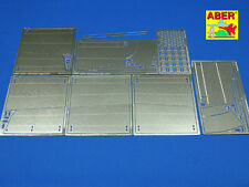 1/16 ABER 16040 SIDE FENDERS for TIGER II for TAMIYA & TRUMPETER Kits