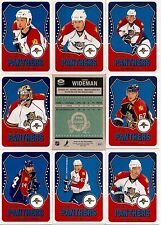 2010-11 OPC O-Pee-Chee Retro Florida Panthers Complete Team Set (15)
