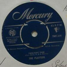 "The Platters(7"" Vinyl 1958 1st Issue)Twlight Time-Mercury-7MT 214-UK-Ex/Ex"