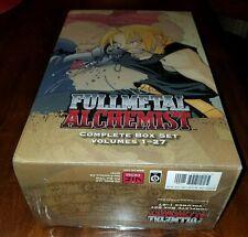 Fullmetal Alchemist Complete Box Set Manga [ENGLISH] New 1 thru 27