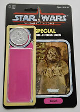 VINTAGE LUMAT CARD  KIT POWER OF THE FORCE LAST17 REPRO COIN