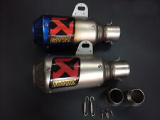 Stainless Steel 51mm Motorcycle Slip On GP Exhaust Pipe System Silencer Muffler
