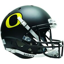 OREGON DUCKS BLACK SCHUTT XP FULL SIZE REPLICA FOOTBALL HELMET