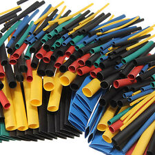 280X Assortment Heat Shrink Tube Tubing 2:1 8Size Sleeving Wrap Wire Cable