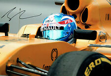 Jolyon PALMER British Racing Driver SIGNED F1 Portrait Photo AFTAL Autograph COA