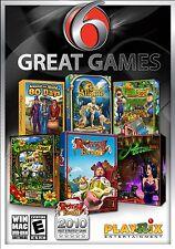 6 Great Games PC Games Windows 10 8 7 Vista XP Computer gem match puzzle hidden