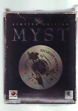 MYST : LIMITED EDITION - MYST 1 PC GAME - ORIGINAL RARE BIG BOX & STRATEGY GUIDE