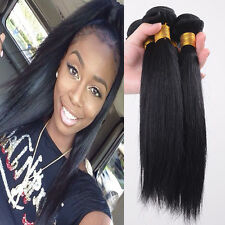 3 Bundles 150g Unprocessed Virgin Peruvian Straight Hair Extension Human Weave