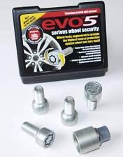 EVO 14x1.5 mm Bloccaggio Ruota Bulloni raggio per VW GOLF CORRADO POLO BEETLE 5 Stud