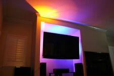 "TV Back Light- Television LED Light Strips in RGB 60"" inches of LEDs with remote"