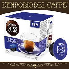 Caffè Nescafè Dolce Gusto Krups 192 Capsule Cialde Ristretto Ardenza - Originali