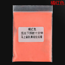 5 Colors DIY Beauty Fluorescent Bright Glow in the Dark Powder Pigment Craft 10g