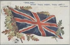 TUCK 8728 PC We'll keep the flag flying Postally used 1919