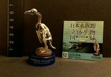 RARE NEW Kaiyodo Japan Aquarium Humboldt Penguin Skeleton Bird Animal Figure
