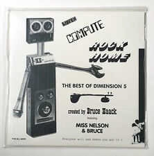 BRUCE HAACK ESTHER NELSON ‎Listen Compute Rock Home SEALED Best Of Dimension 5