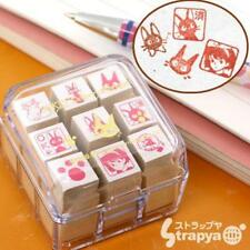 New Studio Ghibli Kiki's Delivery Service Mini Rubber Stamp Set of 9 Japan