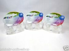 NEU! Original Philips Avent 6 Schnuller!!! Transparent 3-6 Monate