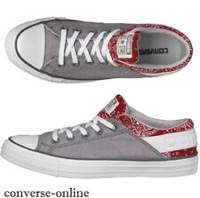 Mens CONVERSE All Star BAND OX GREY RED Trainers Shoes Sneakers EU 40 SIZE UK 7