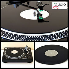 Turntable Platter Mat. fits TECHNICS SL1200-SL1210 AUDIO TECHNICA LP120-LP1240