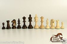 "PROFESSIONAL 3.5"" CHESSMEN STAUNTON No.5! METAL WEIGHTED CHESS PIECES!!!"