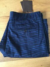 LOUIS VUITTON LIGHTWEIGHT EPI PRINTED BLUE SHORTS SIZE M NEW AUTHENTIC RRP £530