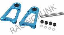 RC Car Upgrade for Tamiya TT01 TT01E TT-01 hop up Alloy FRONT UPPER ARM Set BLUE