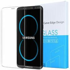 For Samsung Galaxy S8 Exact 3d curve edge Tempered Glass Screen Protector Clear