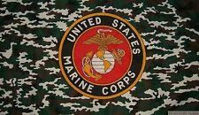 CAMO MARINES 5x3 feet FLAG 150cm x 90cm flags US MARINE CORPS USA AMERICA