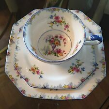 "Star Paragon Tea Cup with  6"" and 7"" Plates Beautiful VTG Excelent Condition"