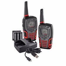 2 COBRA CXT595 MicroTalk 32 Mile 22 Channel Walkie Talkie 2-Way Radios with Vox