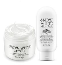 [Secretkey HQ] Snow White Cream 50g + Snow White Milky Pack 200g /tone up cream