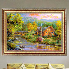 Forest House DIY 5D Diamond Painting Embroidery Cross Stitch Craft Home Decor