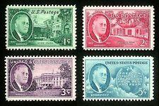 70 YEAR OLD 1945/46 WW2 US Stamp FDR Franklin D. Roosevelt MINT Set
