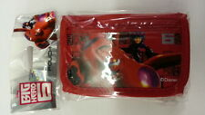 DISNEY BIG HERO 6 KID TRIFOLD WALLET IN RED COLOR WITH COIN COMPARTMENT L@@K