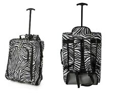 """Cabin Approved Multi-use Carry On Flight Bag Luggage Trolley Bag Backpack 20"""""""