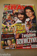 Bravo 11/2007 Johnny Depp,Orlando Bloom,Beyonce,Fall Out Boy,Ciara, Akon,US5