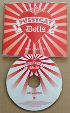 Pussycat Dolls - Wait A Minute UK Promo Cd Ultra Rare! 2006 Nicole Scherzinger