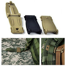 New Applied 30mm Molle Strap EDC Backpack Bag Webbing Connecting Buckle Clip