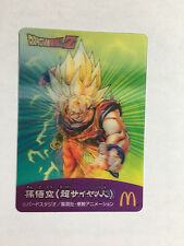 Dragon Ball Z Changing Cards MacDonald's #4 3D Promo
