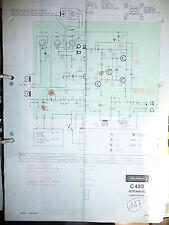 Service Schema für Grundig C 420/C 440  Recorder,ORIGINAL
