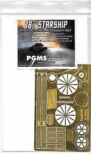 ParaGrafix Star Trek USS Enterprise Photo Etch Details, Classic AMT II,  116 ST