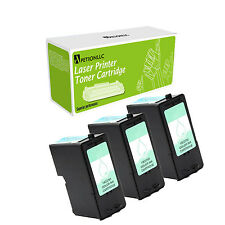 3 Pack Compatible 18C0781 ( #1 ) Color Ink Cartridge For Lexmark X2470 AIOX2300