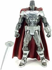 "Mattel DC Super Heroes 2006 STEEL (CHROME ""S"" SHIELD VARIANT) (SERIES 2) - Loose"