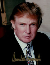 Donald J Trump 45th president SIGNED AUTOGRAPHED Picture Photo Authentic