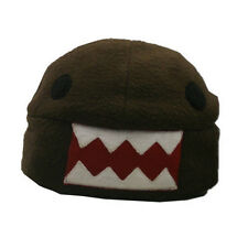 Domo-kun Brown Fleece Cap Cosplay Anime MINT
