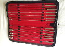 Bakes Rosebud uretrale SUONI Dilator Set 1 2 3 4 5 6 7 8 9 10 11 12 13mm 13 PC
