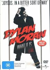 Dylan Moran What It Is Live DVD Live In Sydney  NEW Region 2 4 PAL