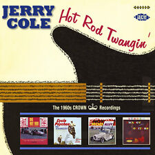 Jerry Cole - Hot Rod Twangin': The 1960s Crown Recordings (CDCHD 1122)