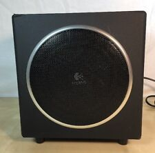 logitech S-00076A computer speaker Sub-Woofer Black