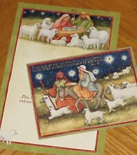 Holy Light Susan Winget Art religious Lang Christmas Cards 4ct